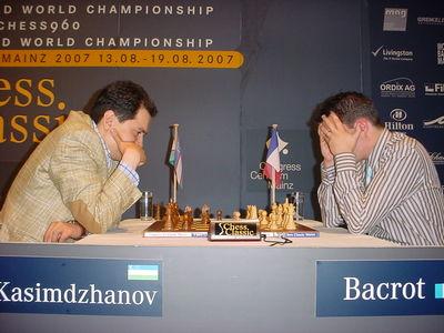 Mainz Kasimdzhanov Bacrot day 2