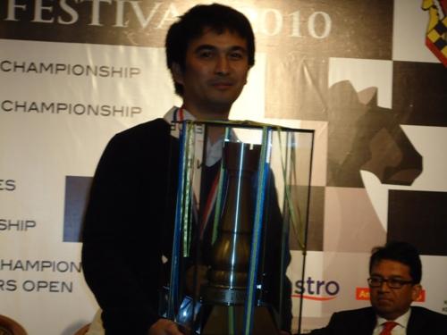 Malaysian Open Champion Cao Sang
