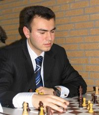 Mamedyarov at corus tournament