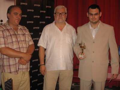 Michael Roiz trophy