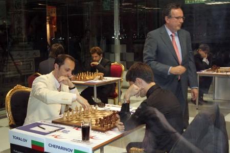 Mtel Masters Topalov Cheparinov