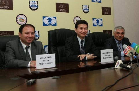 Nalchik press conf