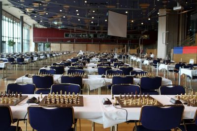 olympiad playing hall