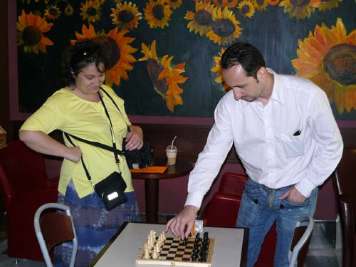 Onda Chess Topalov Demonstration