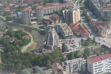 Paracin Aerial view