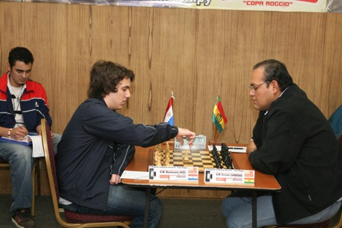 Paraguay Bachmann vs Zambrana