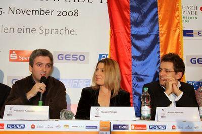 press conference armenia