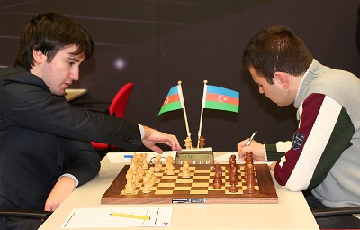 Radjabov-Mamedyarov Corus 2008
