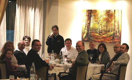 Reggio Emilia dinner with president