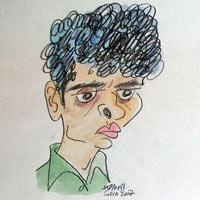 Sasikiran caricature mtel 07