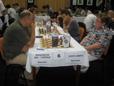Serbia legue Branko Damljanovic-Konstantin Sakajev