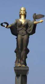 sofia statue logo