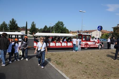 Spoleto Turistic train