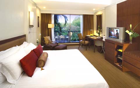 The Dusit's Superior Garden View room