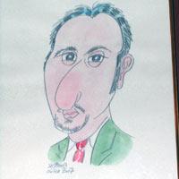 Topalov caricature mtel 07