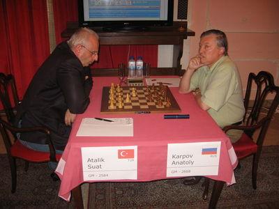 Valjevo day 3 Atalik Karpov