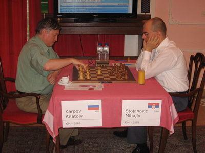 Valjevo day 8 Karpov Stojanovic