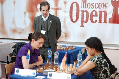 Women blitz chess