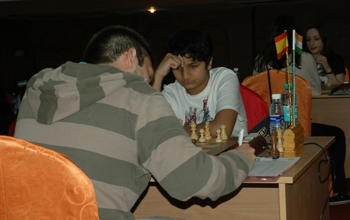 world junior 2011 IM Vidit Gujrathi - GM Ivan Lopez Salgado