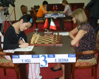 WWCC Hou Yifan - Sedina