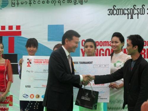 Yangon 1st Oliver Barbosa