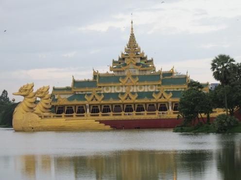 Yangon Barge