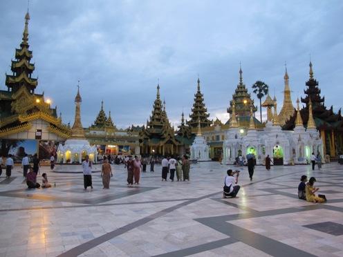 Yangon Courtyard