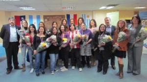 Group photo of the participants and principals