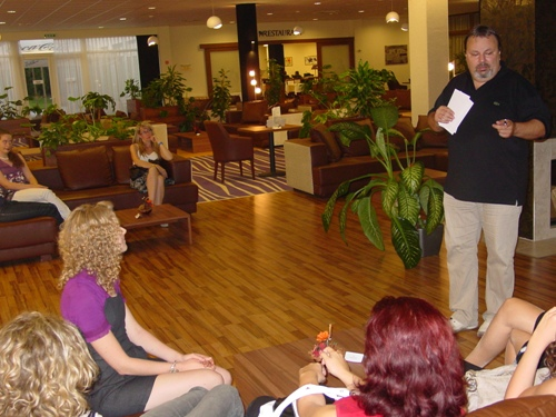 Hungarian women chess championship 2012 technical meeting