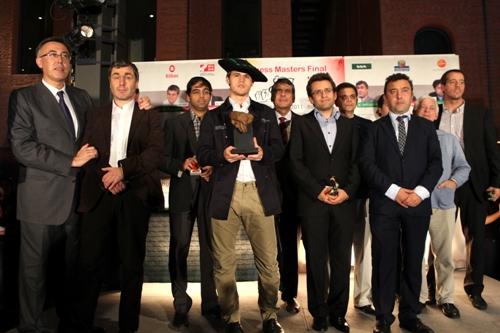 Bilbao Final Masters closing ceremony