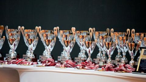 ESCC 2011 trophies