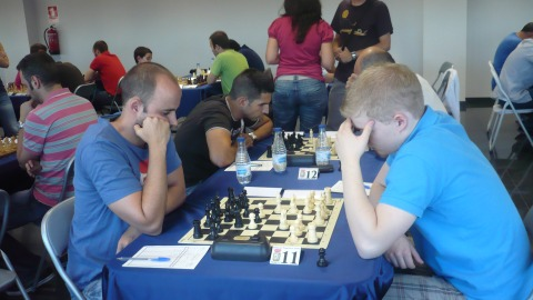 GM Herminio Herraiz, whose interview we published not long ago, won his game against Erik Ronka