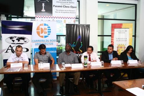 Panama Chess Open press conference