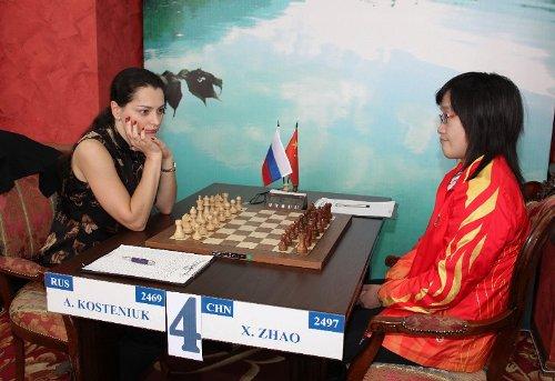 Alexandra Kosteniuk - Zhao Xue