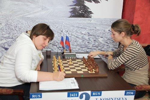 Ekaterina Kovalevskaya - Tatiana Kosintseva