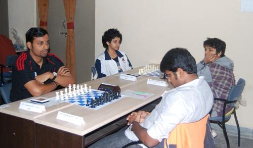 MR Venkatesh of PSPB defeated MR Lalith Babu, 2010 national junior champion.