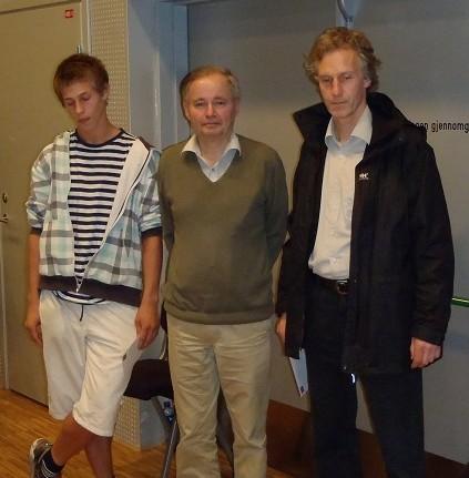 Oslo Chess International elo group winners