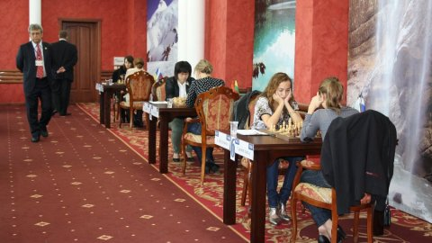 Nalchik FIDE Grand Prix - playing hall