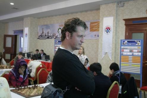 Tournament director Cengiz Ince