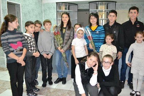 Visit to chess school