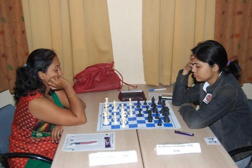 WGM Swati Ghate and WGM Soumya Swaminathan had a safe draw