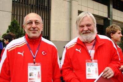 GM Mikhail Gurevich and GM Arthur Jussupow