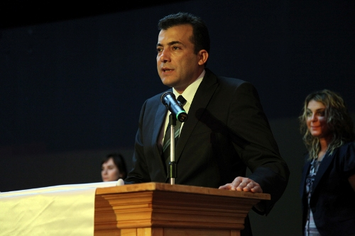 Askin Keles, the board member of Turkish Chess Federation
