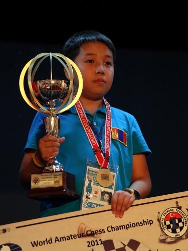 World Amateur Champion Sumiya Bilguun from Mongolia