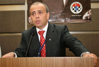 Ali Nihat Yazici, President of the Turkish Chess Federation