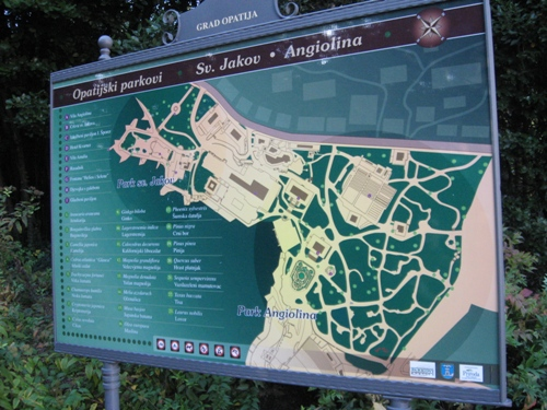 Angiolina Park planning