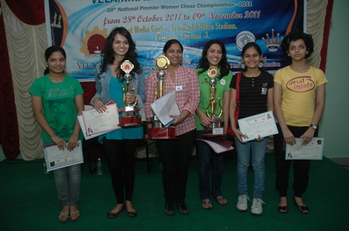Indian top six women players viz., Pratyusha Bodda, Tania Sachdev, Mary Ann Gomes, Eesha Karavade, Nisha Mohota, Padmini Rout