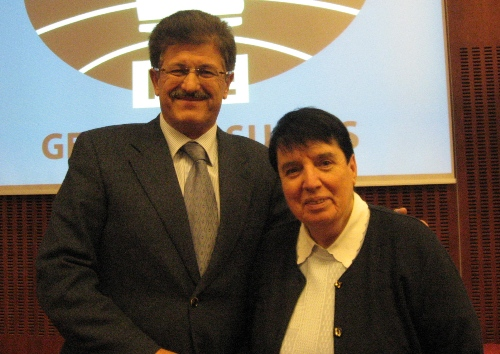 Ivo Dujmic and Nona Gaprindashvili