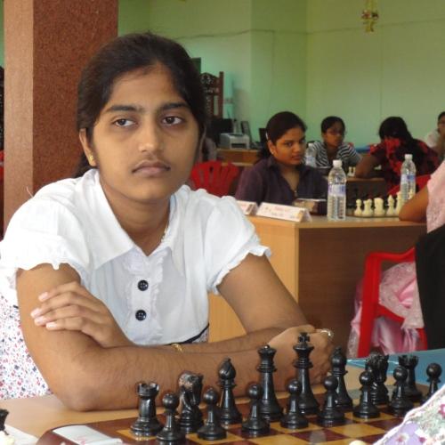 Maiden Woman International Master Norm for Chandika Divyasree
