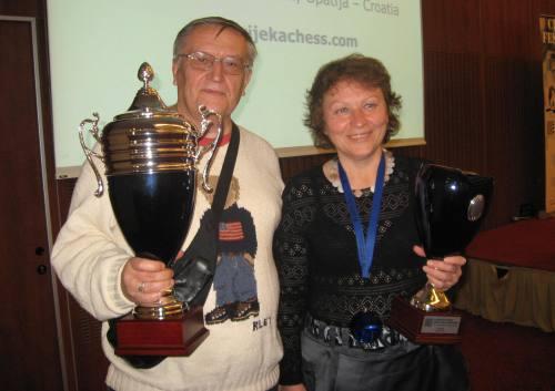 Vladimir Okhotnik and Galina Strutinskaya